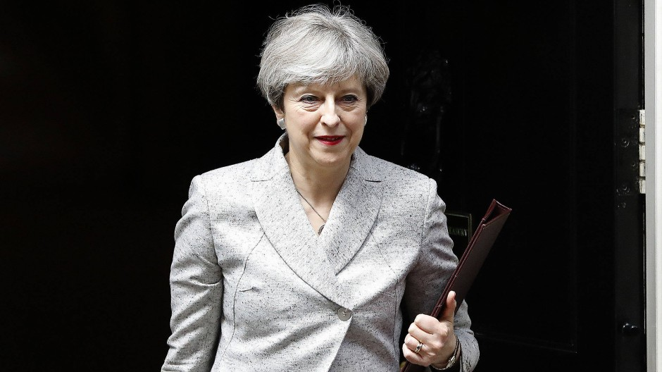 Großbritanniens Premierministerin steht derzeit gehörig unter Druck.