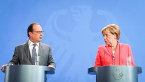 Kopfschütteln über Madame Merkel