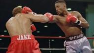 Pernell Whitaker im Boxkampf gegen Jake Rodiguez (Archivbild aus dem Jahr 1995)