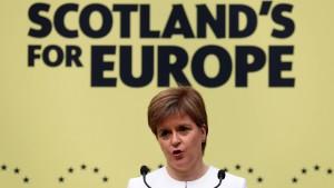 Brexit beunruhigt EU-Bürger in Schottland