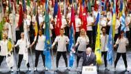 Joseph Blatter bei der Eröffnung des Fifa-Kongresses am Donnerstag in Zürich.