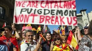 Showdown in Katalonien