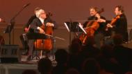 Cello-Virtuose David Geringas verzückt mit litauischen Klängen
