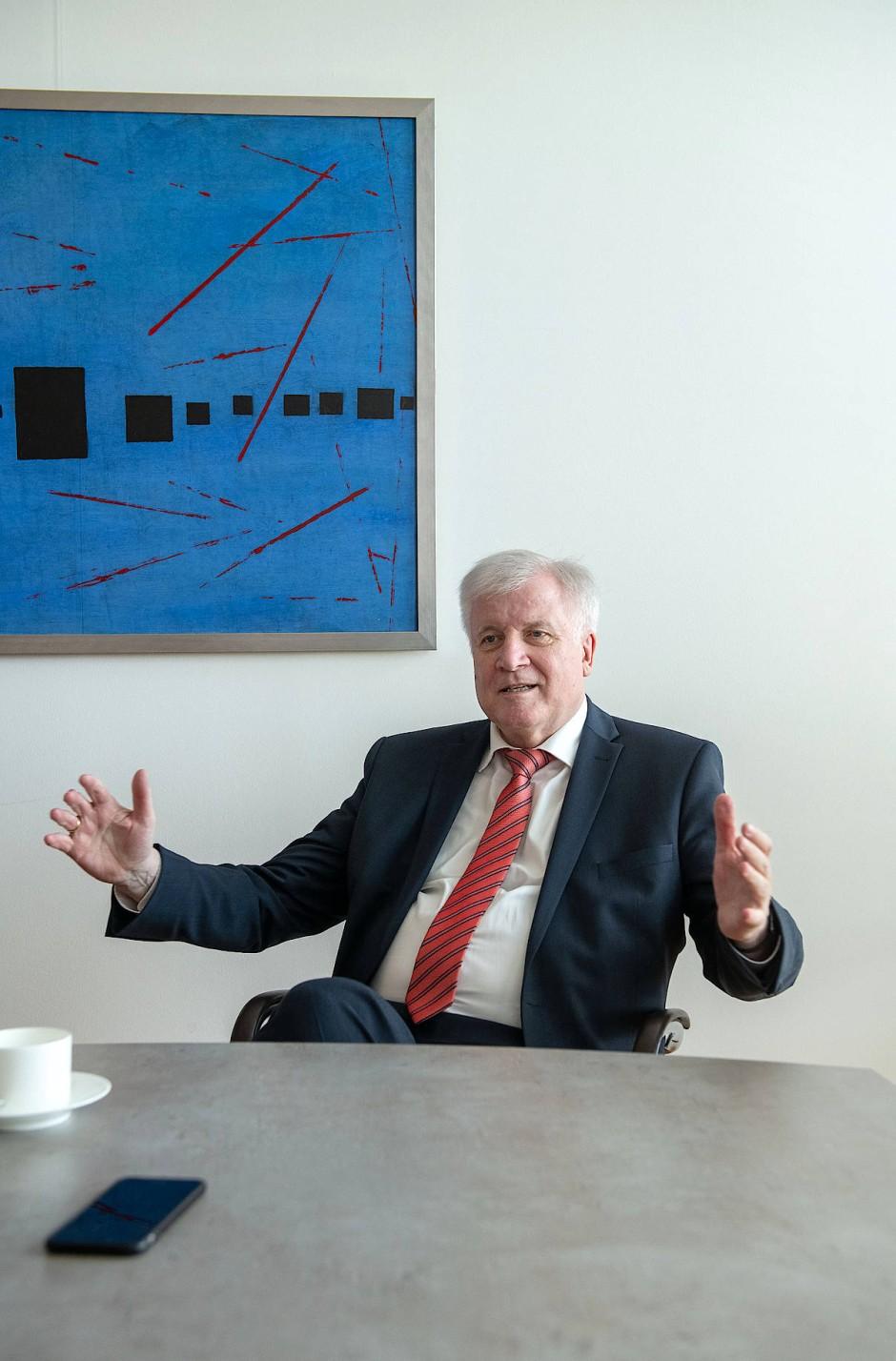 """Bilderstrecke zu: Horst Seehofer im Interview: """"Mit mir ..."""