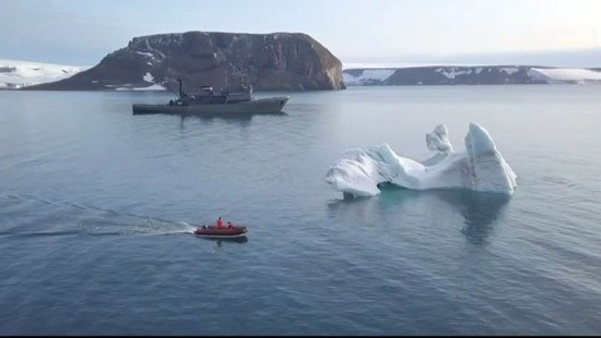 Fünf Inseln in Arktis entdeckt