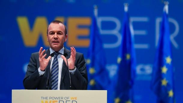 """Weber will in Brüssel """"durchlüften"""""""