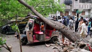 Mindestens 50 Tote nach Unwettern in Pakistan