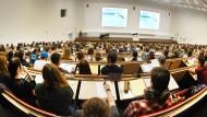 Das Auditorium Maximum der Universität Leipzig (Archivbild)