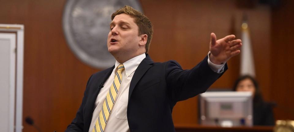 Erfolgreich vor Gericht: Klägeranwalt Brent Wisner vertritt den krebskranken Dewayne Johnson gegen Monsanto.