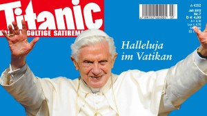 Papst gegen Titanic