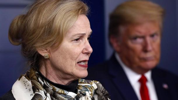 "Ex-Corona-Beraterin berichtet von ""unangenehmem"" Telefonat mit Trump"
