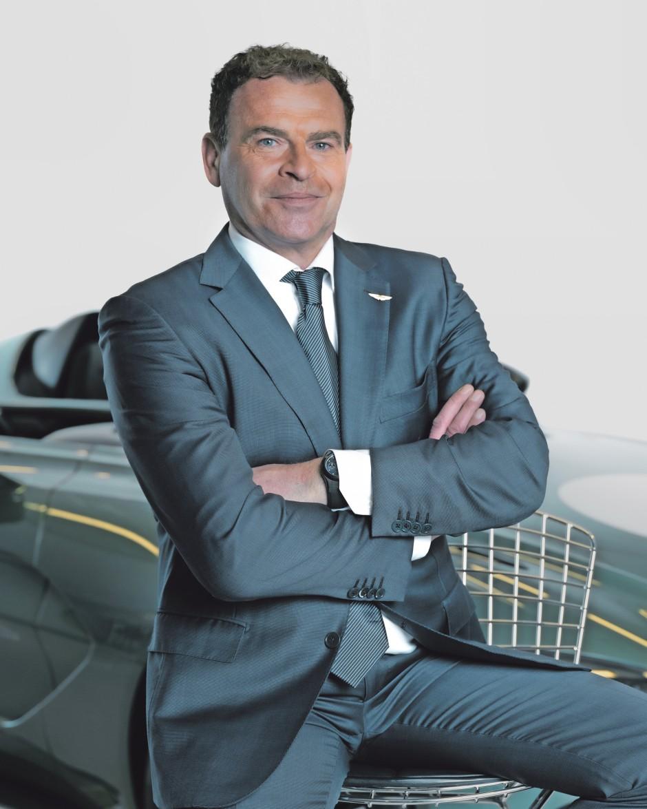 Tobias Moers führt Aston Martin seit August 2020
