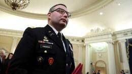 Zeuge im Trump-Verfahren beendet Militär-Karriere