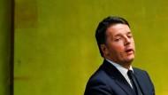 Italiener sollen am 4. Dezember über Verfassung abstimmen