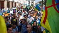 In Marokkos Hauptstadt Rabat: Protest für die Freilassung politischer Gefangener