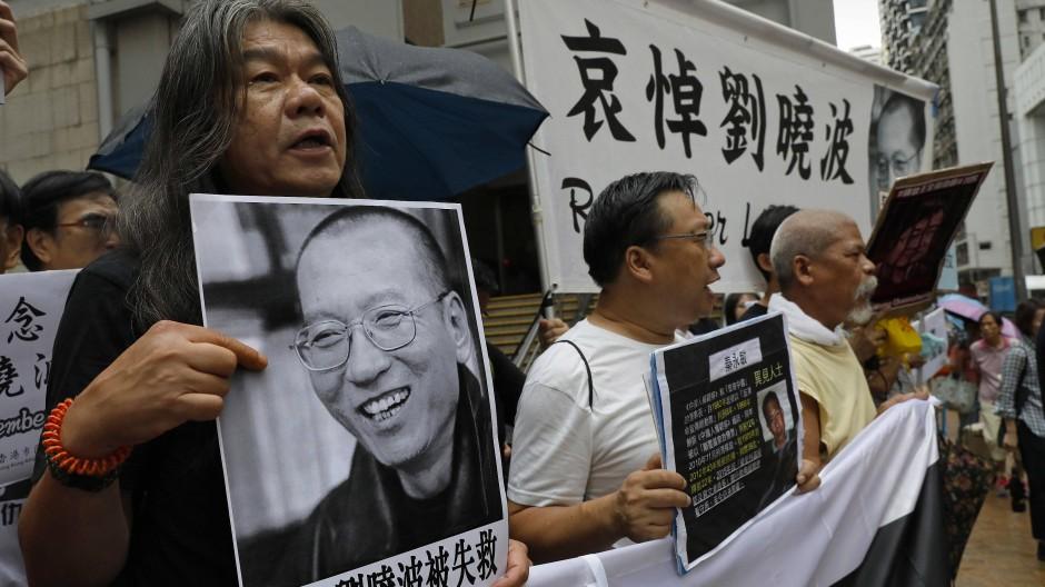 Gedenken an chinesischen Menschenrechtler Liu Xiaobo