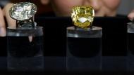 Gelber Diamant für 16,3 Millionen Dollar verkauft