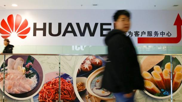 """Amerika klagt Huawei an – China spricht von """"politischer Manipulation"""""""