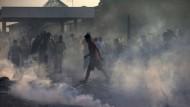Gewaltausbrüche an den Grenzen Europas