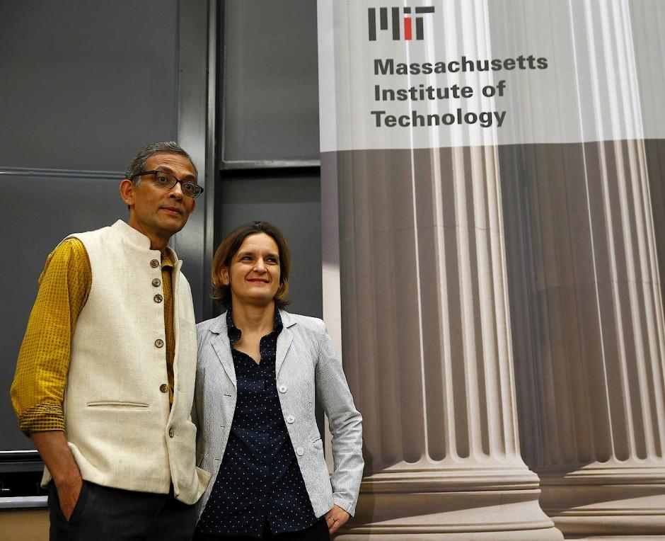 Erfolgreiche Zusammenarbeit: Abhijit Banerjee und Ester Duflo