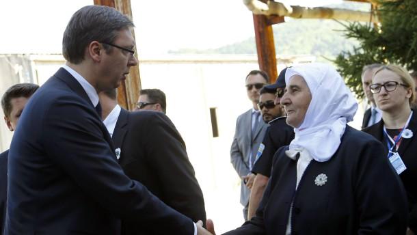 Mutig in Srebrenica