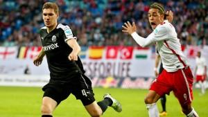 RB Leipzig verpasst die Rückkehr auf Platz eins