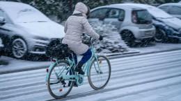 Probleme mit Eis und Schnee in Süd- und Westhessen