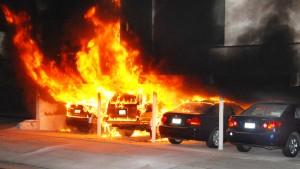 Mutmaßlicher deutscher Serienbrandstifter festgenommen