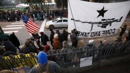 Proteste gegen schärfere Waffengesetze