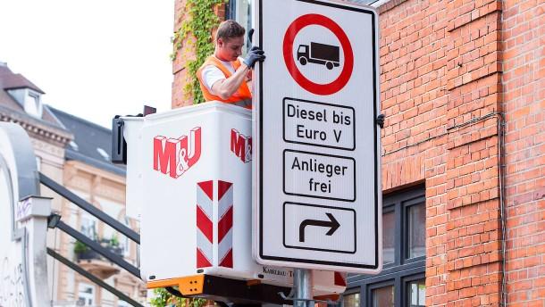 Sanfter Einstieg in Diesel-Fahrverbote