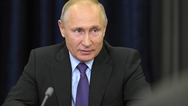 Sympathie für Putins autoritäre Herrschaft