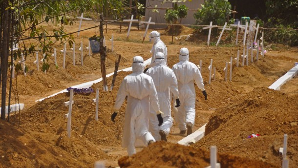 Liberia meldet Rückschlag im Kampf gegen Ebola