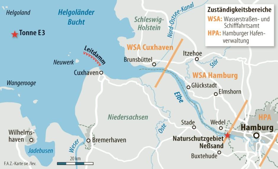 Entfernung Hamburg Nordsee