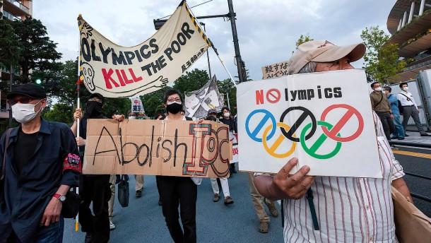 In Japan wächst die Kritik an Olympia