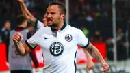 Wichtigster Treffer: Seferovic nach seinem Tor in der Relegation gegen Nürnberg