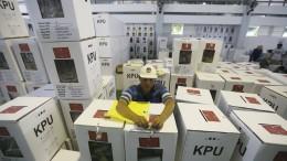 Enttäuschte Wähler in Indonesien wollen ihre Stimmzettel entwerten