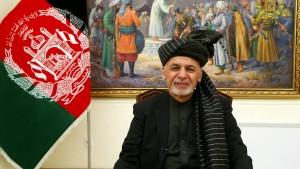 Afghanischer Präsident schreibt Brief an Trump