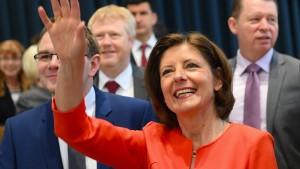 Malu Dreyer als Ministerpräsidentin wiedergewählt