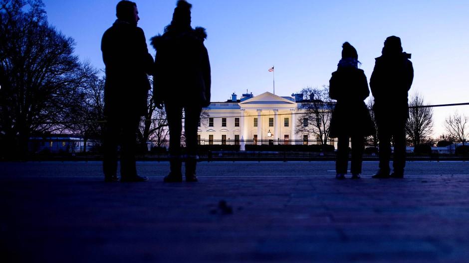 Weißes Haus in Washington: Der längste Shutdown in der amerikanischen Geschichte dauert an.