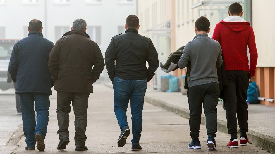 Asylbewerber in Eisenhüttenstadt