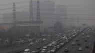 16 Mal höher als die Weltgesundheitsorganisation empfiehlt: der Luftindex in Peking seit zwei Tagen
