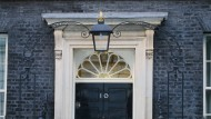 Londons Regierungssitz: Downing Street No. 10.
