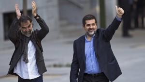 Führende katalanische Separatisten inhaftiert