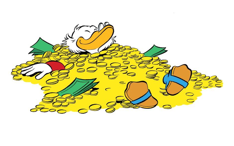 Bilderstrecke Zu Dagobert Duck Zum 65 Geburtstag Eine