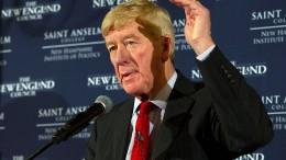 Bill Weld will gegen Trump antreten