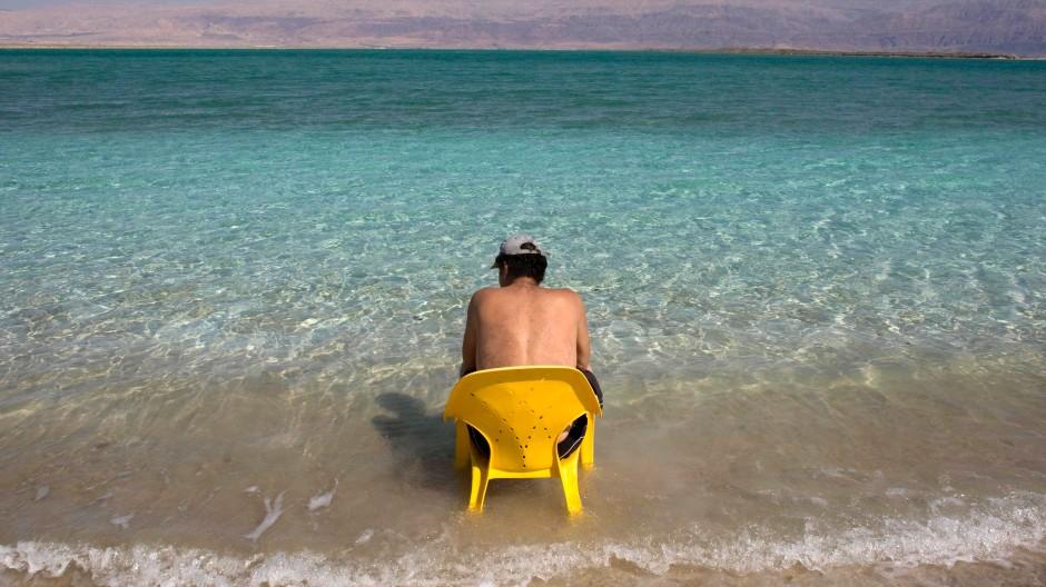Seit Jahren auf dem Rückzug: das Tote Meer