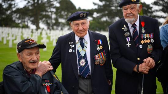 Veteranen schildern Landung in der Normandie