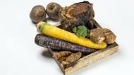 Von wegen Lückenbüßer: Mit Gemüse von Urkarotte bis Petersilienwurzel lässt sich Kreatives anfangen.
