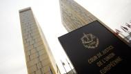 Die Türme des Europäischen Gerichtshofs (EuGH) in Luxemburg