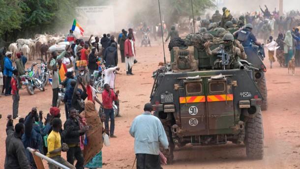 Hollande: Jetzt können die Afrikaner uns ablösen